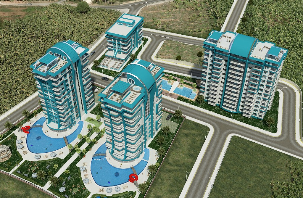 Luxury residential complex ANGELS HOME