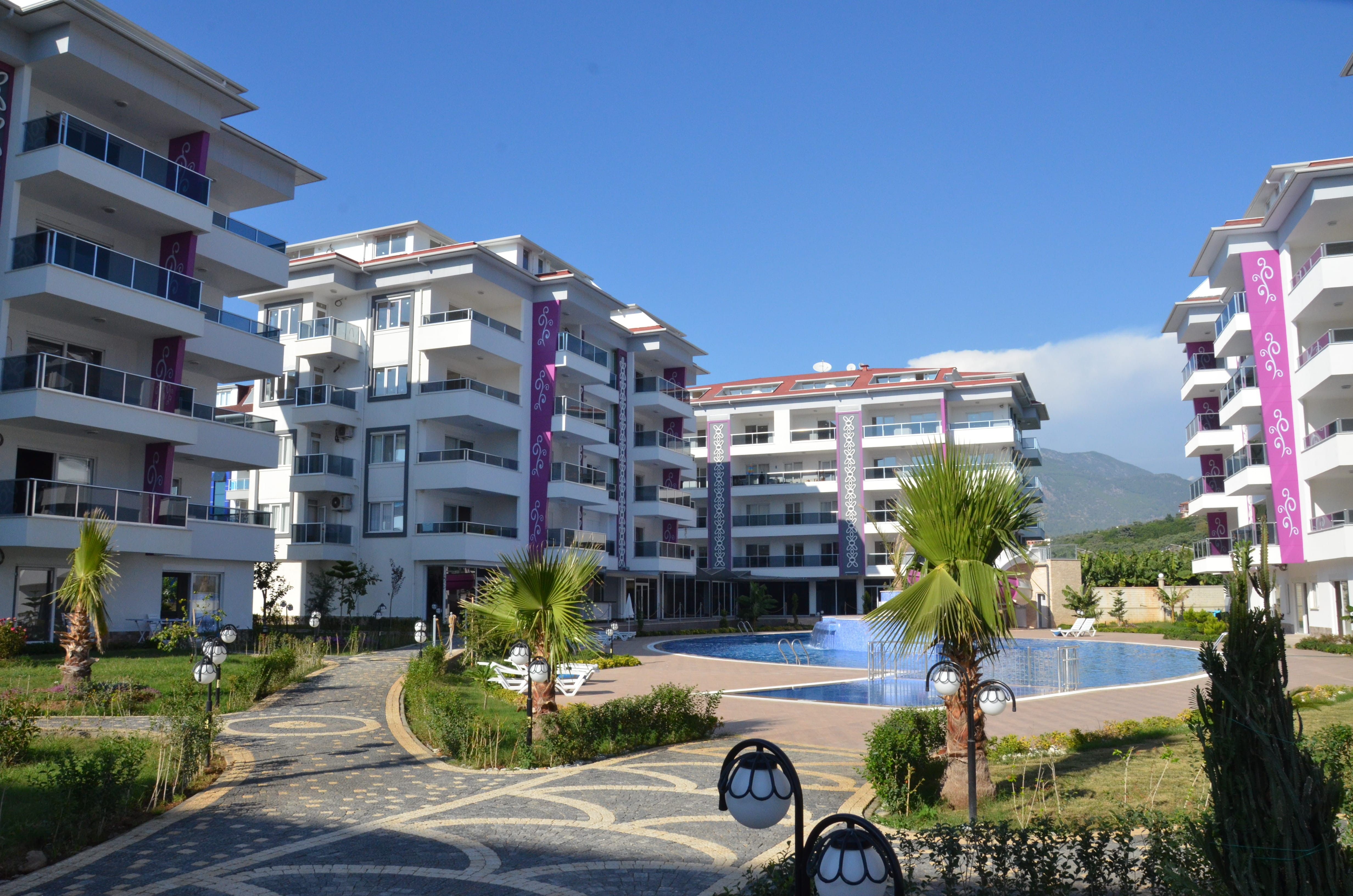Luxury residential complex in Kestel, Alanya